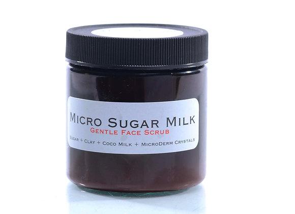 Micro Sugar Milk Face Scrub