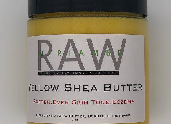 RAW Yellow Shea Butter