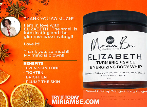 Elizabeth Turmeric + Spice (Ginger) Body Whip