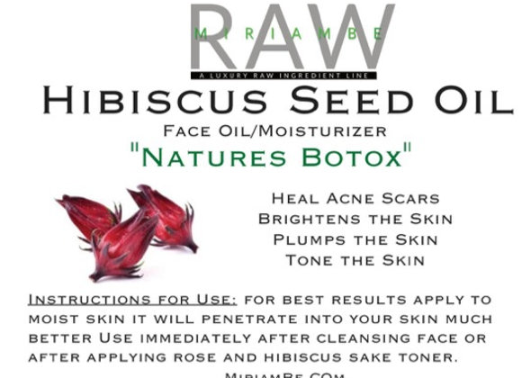 Hibiscus Seed Oil