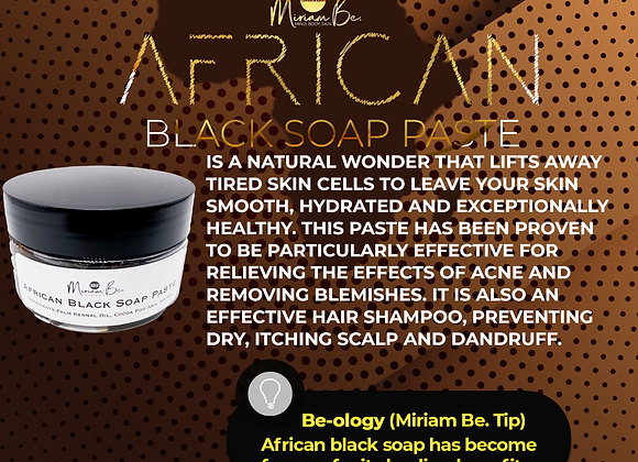 African Black Soap Paste