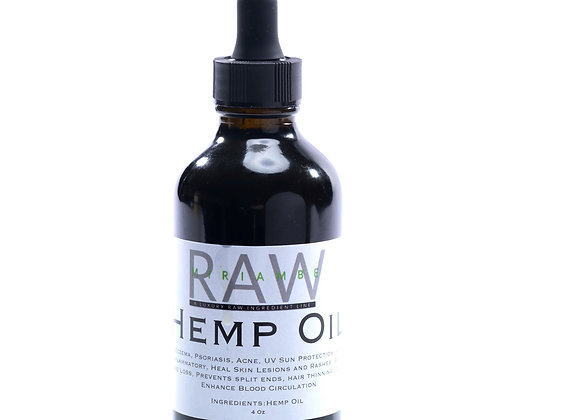 RAW Hemp Oil