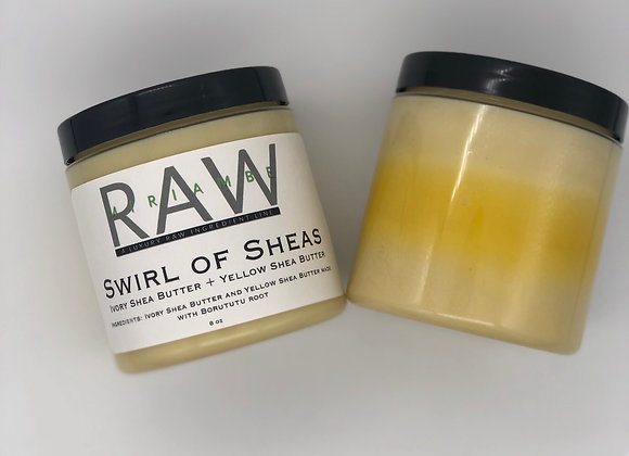 RAW Swirl of Sheas