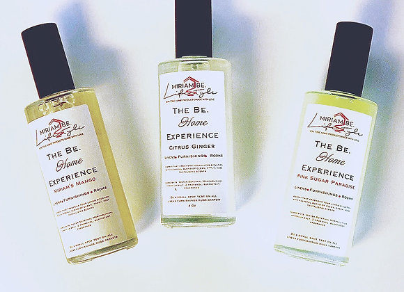The Be. Home Experience Linen and Home Spray Citrus Ginger