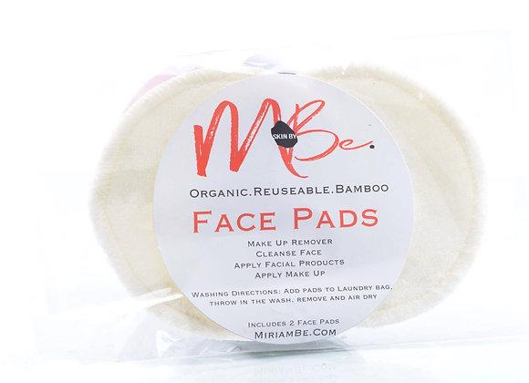 Organic Bamboo Face Pads