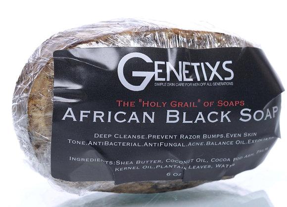 Genetixs African Black Soap Bar