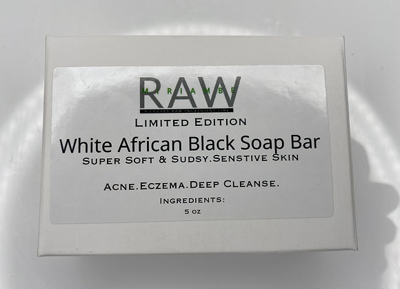 White African Black Soap Bar