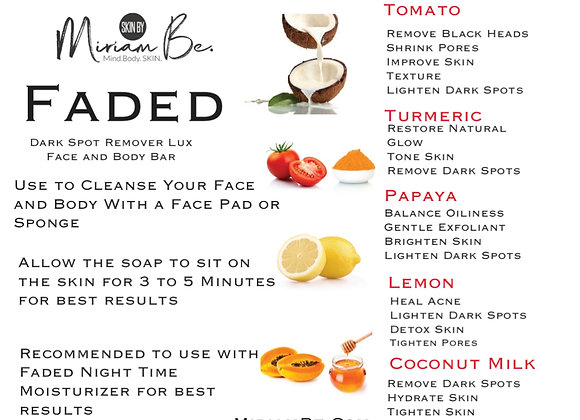 Faded Night Face and Body Bar