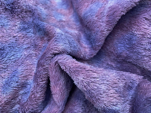 Miniature Viscose Fabric 4mm Muted Violets