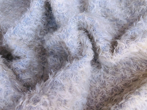 Mohair Fabric 20mm Aged lavender