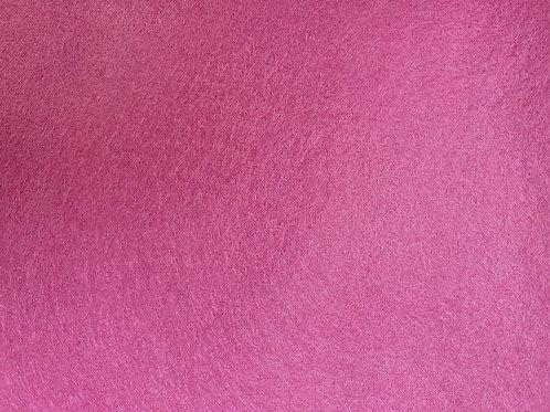 Wool Blend Felt Fabric Magenta