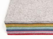 viscose & wool blend felt