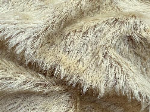Mohair Fabric 20mm Golden Bruin