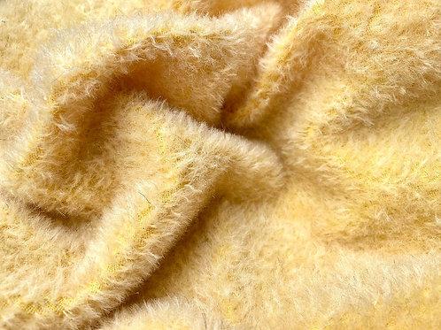 Mohair Fabric 9mm Daffodil Yellow