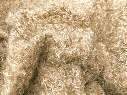 Mohair Fabric 20mm Goldie
