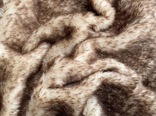 Alpaca Fur Fabric 14mm Stone Tip