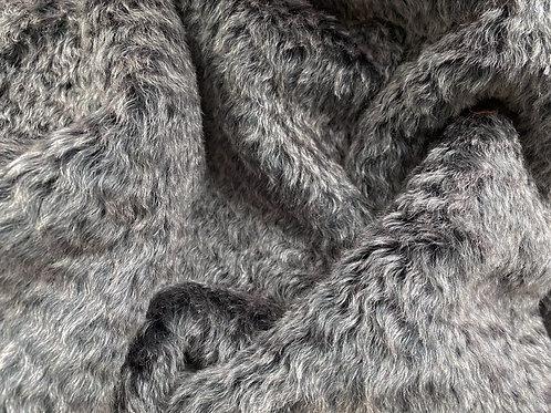 Mohair Fabric 18mm Marled Granite Wave
