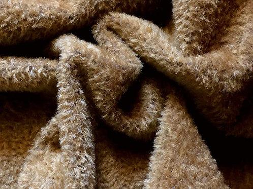 Mohair Fabric 9mm Earthen Brown