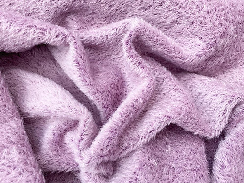 Mohair Fabric 7mm Lavender Tufted