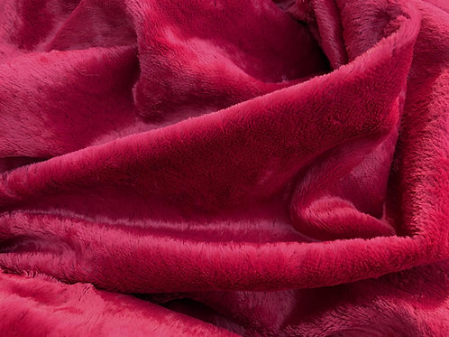 Viscose Fabric 6mm Cardinal Red
