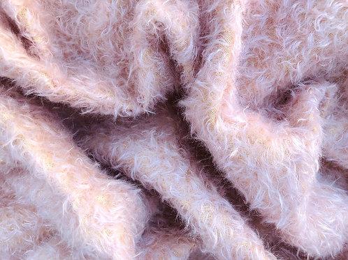Mohair Fabric 20mm Summer Pink