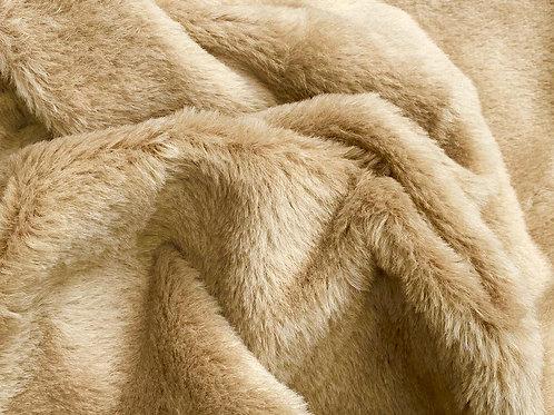 Alpaca Fur Fabric 14mm Warm Beige