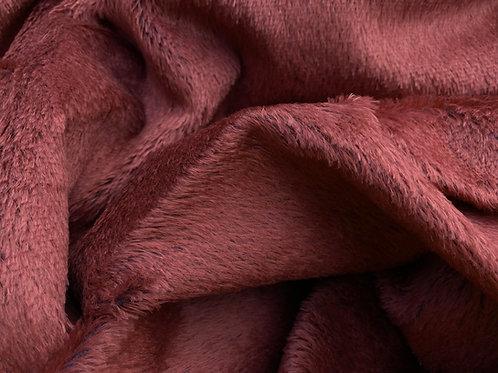 Mohair Fabric 12mm  Mahogany
