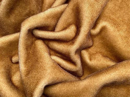 Mohair Fabric 4mm Dusky Gold Tip