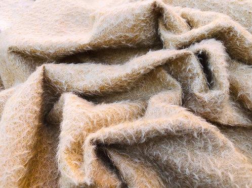 Mohair Fabric 9mm Soft Warm Gold