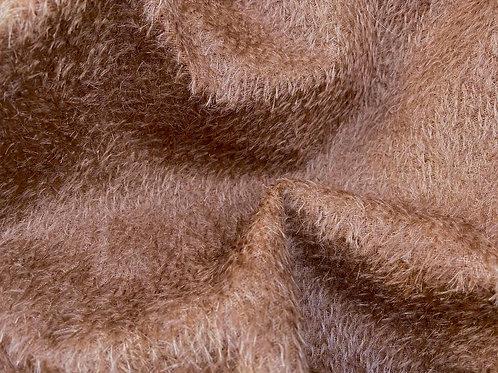 Mohair Fabric 8mm Cinnamon Red