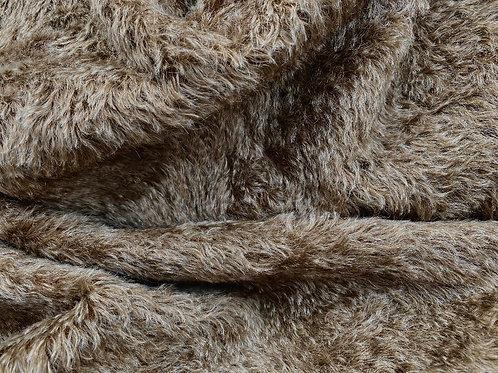 Swirl Mohair Fabric 14mm Donkey