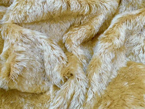 Mohair Fabric 20mm Guilded Gold