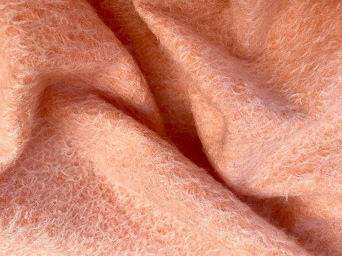 Mohair Fabric 16mm Omy Orange