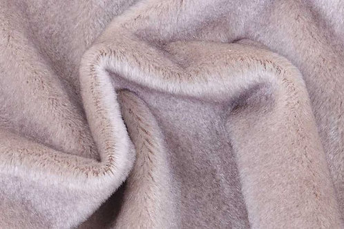 Mohair Fabric 10mm Paynes Grey Tip