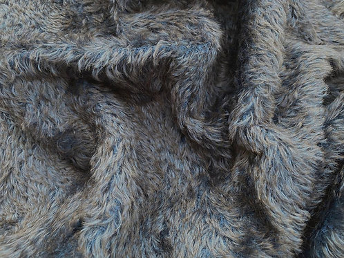 Swirl Mohair Fabric 14mm Dusk