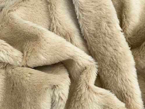 Alpaca Fur Fabric 14mm Summer Sand