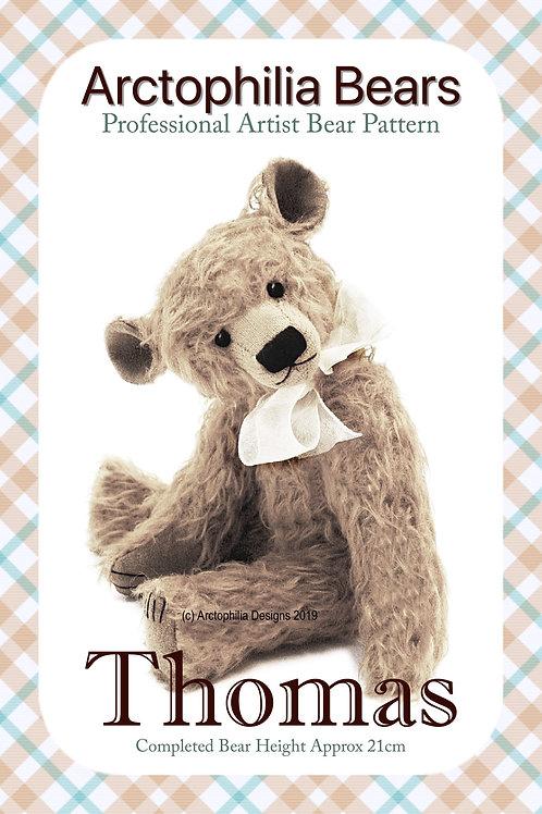 Teddy Bear Pattern Thomas