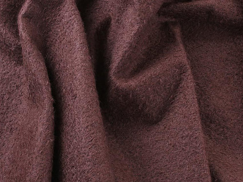 Mohair Fabric 11mm Felted Cocoa