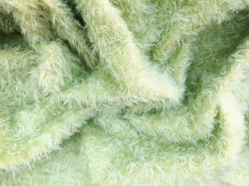 Mohair Fabric 20mm Cocktail Green