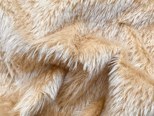 Mohair Fabric 20mm Warm Beige