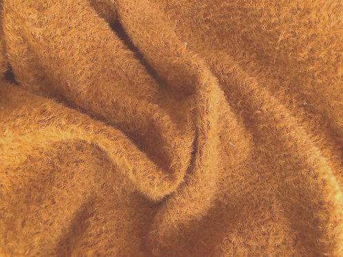 Mohair Fabric 9mm Golden Russet