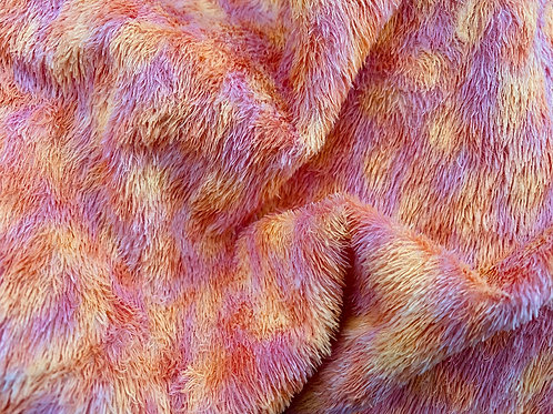 Miniature Viscose Fabric 4mm Carnival Day