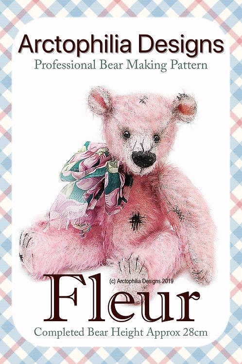 Teddy Bear Pattern Fleur