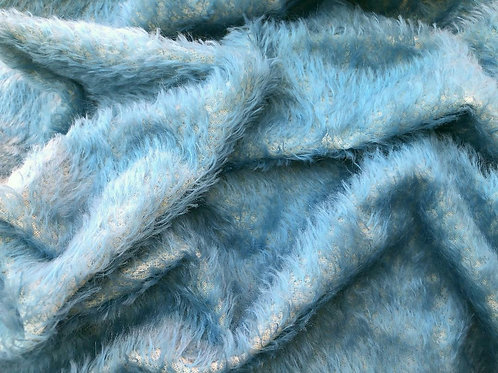 Mohair Fabric 16mm Cloud Blue