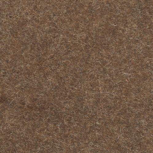 100% Wool Felt Fabric Walnut