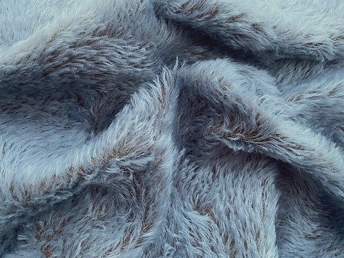 Swirl Mohair Fabric 14mm Sky