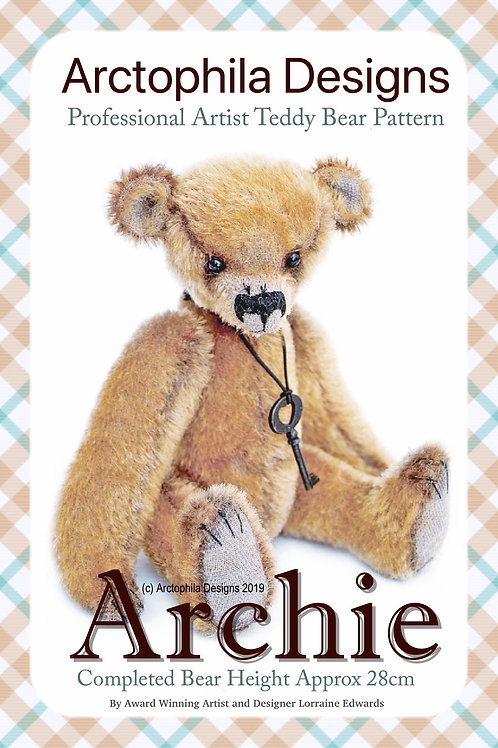 Teddy Bear Pattern Archie