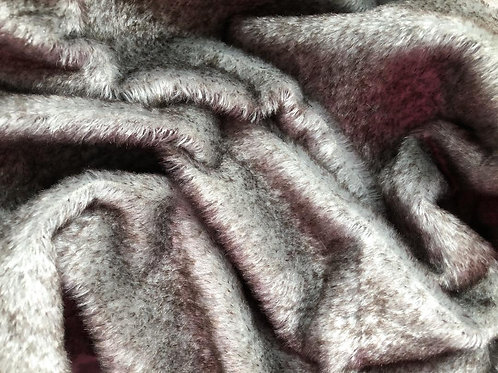 Mohair Fabric 13mm Stormy Day