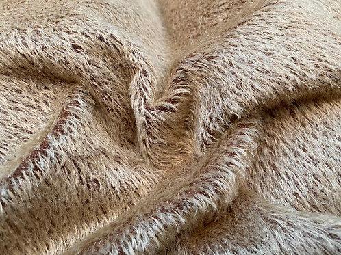 Mohair Fabric 10mm Mocha