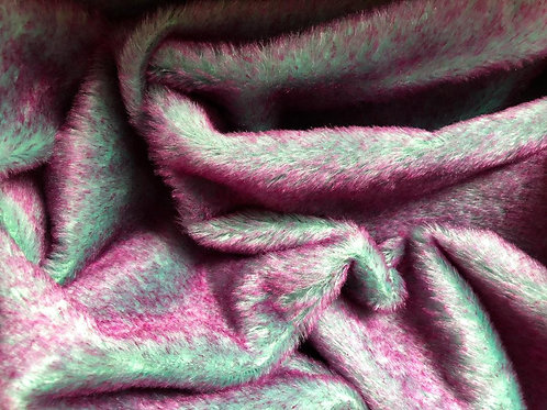 Mohair Fabric 13mm Marine Plum